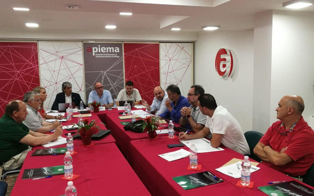 Importantes reuniones en la sede de APIEMA