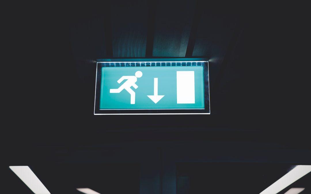 Nuevo curso: sistema de señalización fotoluminiscente
