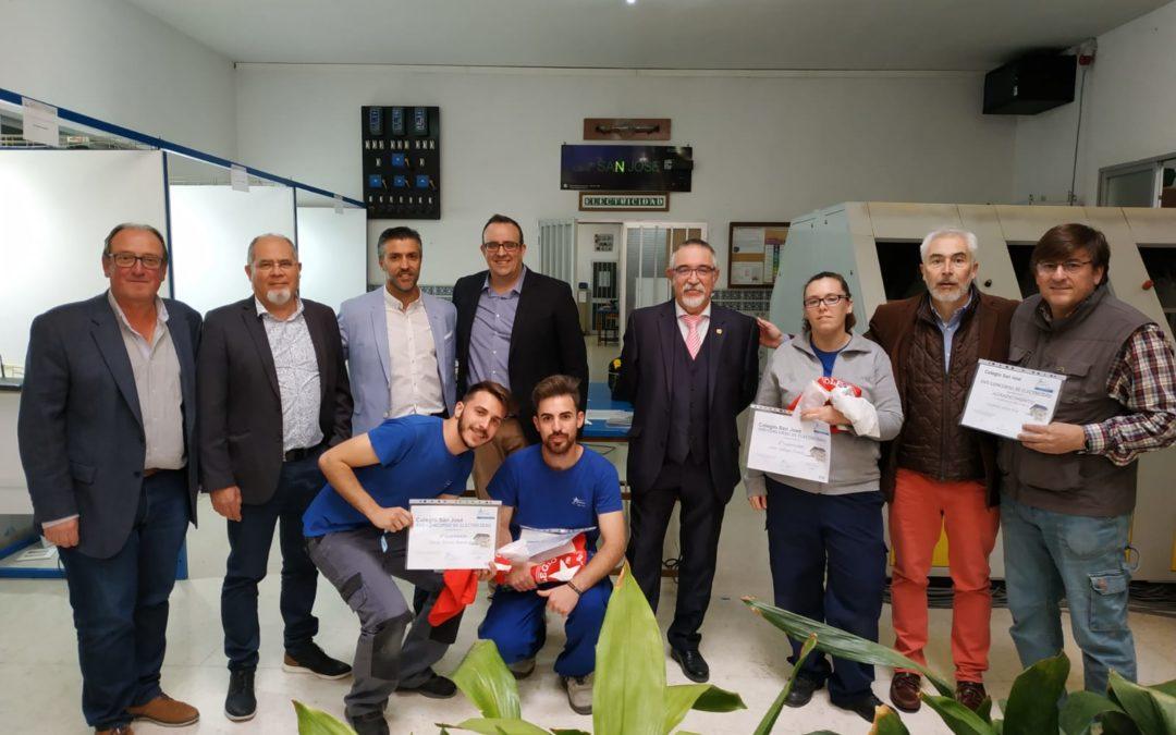 APIEMA, jurado del XVII concurso de Electricidad Antonio Romero