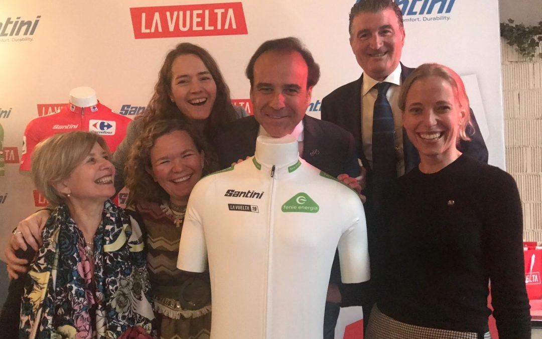 Feníe Energía, espónsor del maillot blanco de la próxima Vuelta Ciclista a España 2019