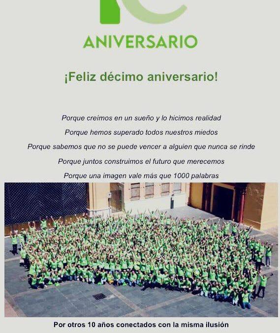 Feníe Energía celebra su décimo aniversario