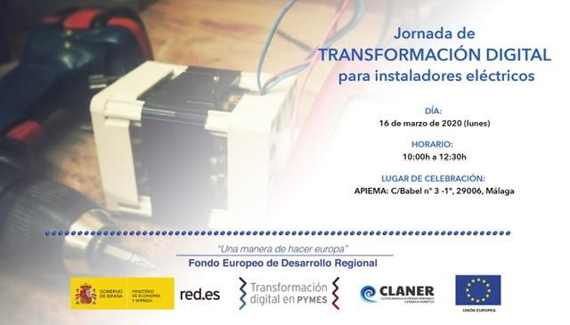 """Jornada sobre TRANSFORMACIÓN DIGITAL """"Herramientas digitales para mejorar el proceso de venta de Instalaciones de Autoconsumo Fotovoltaico»"""
