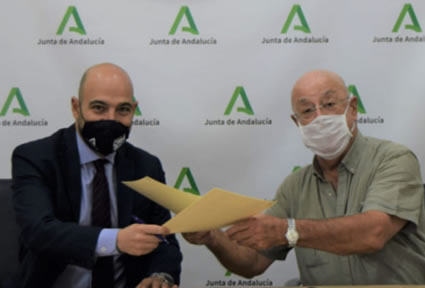 Acuerdo para impulsar la energía limpia en el regadío andaluz